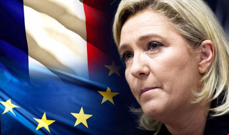 ba marine le pen muon phap theo chan anh roi eu. (anh: getty images)