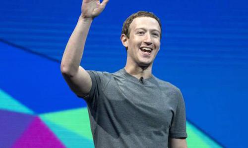 dong sang lap kiem ceo facebook - mark zuckerberg. anh:afp