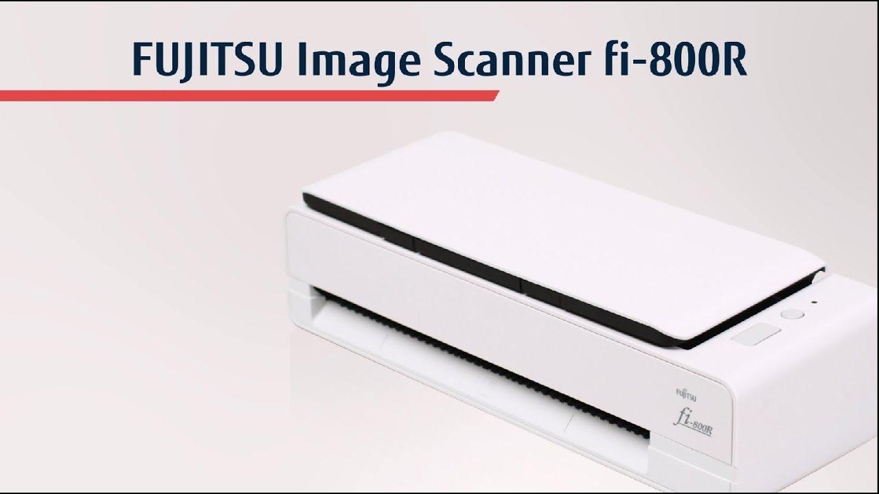 Máy quét đa năng FI-800R của FUJITSU - nhỏ gọn nhưng mạnh mẽ