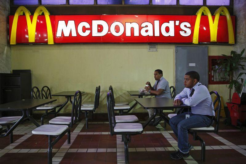 mot chi nhanh mcdonald's thua vang tai thu do caracasanh: reuters