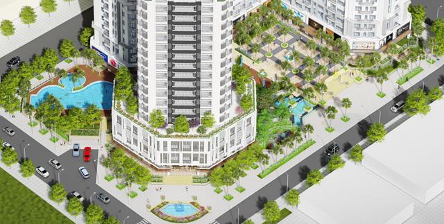 Mở bán căn hộ sân vườn The Monarchy ven sông Hàn Đà Nẵng