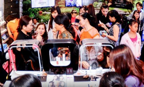 Mỗi năm một người Việt chi trung bình 500.000 đồng mua mỹ phẩm
