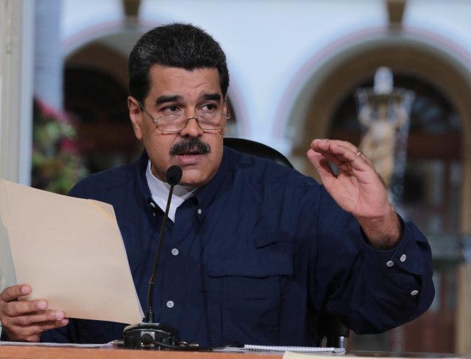 tong thong venezuela, ong nicolas maduro - anh: reuters
