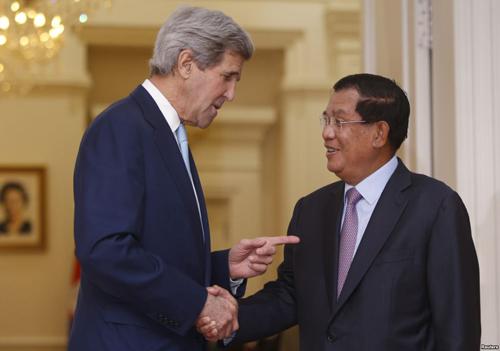Cuộc đấu Mỹ - Trung giành ảnh hưởng ở Campuchia