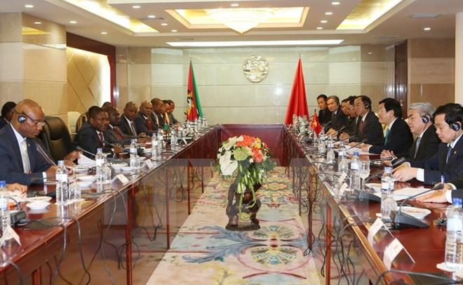 Nâng kim ngạch Việt Nam - Mozambique lên 500 triệu USD vào năm 2020
