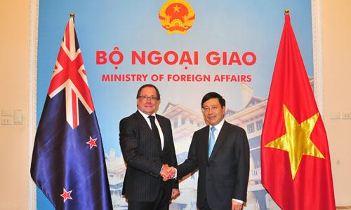 New Zealand và Việt Nam cùng tìm phương cách mới cho TPP