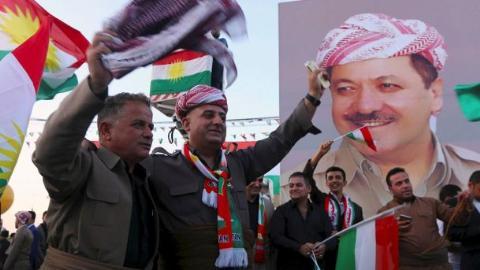 nguoi kurd tai iraq tuyen bo tien hanh trung cau dan y ve doc lap vao ngay 25/9 toi