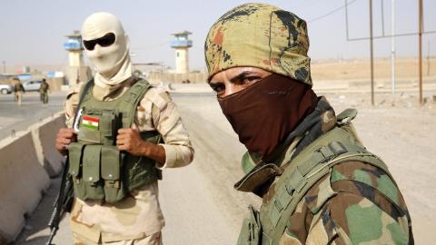 cac tay sung nguoi kurd o iraq tai mot chot kiem soat