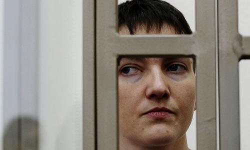 nu phi cong ukraine savchenko. anh:ap