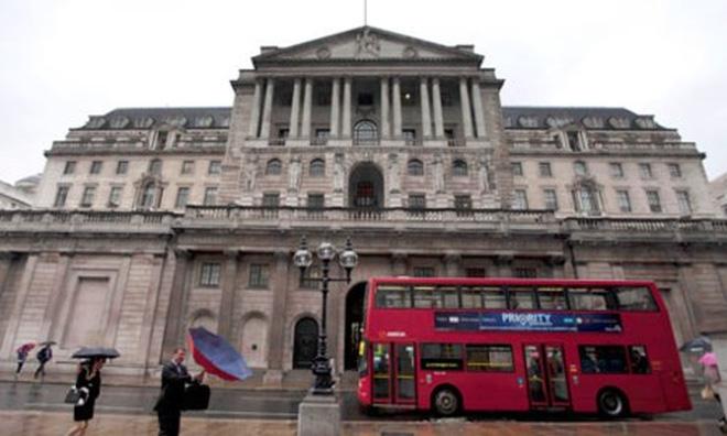 NH Trung ương Anh lùi thời điểm tăng lãi suất sang năm 2017?