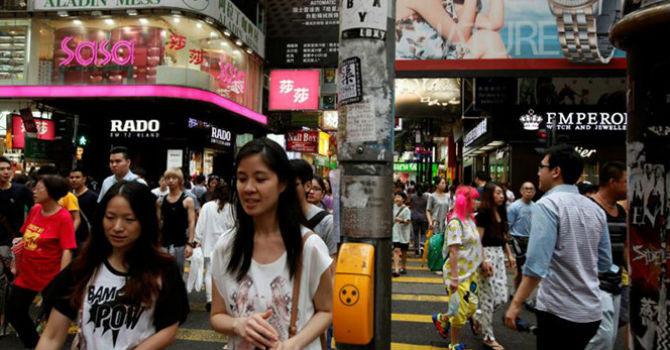 khu mua sam causeway bay, hong kong