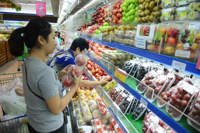 Tháng 5/2018 nhập khẩu rau quả từ Brazil, Australia, NewZeland tăng mạnh