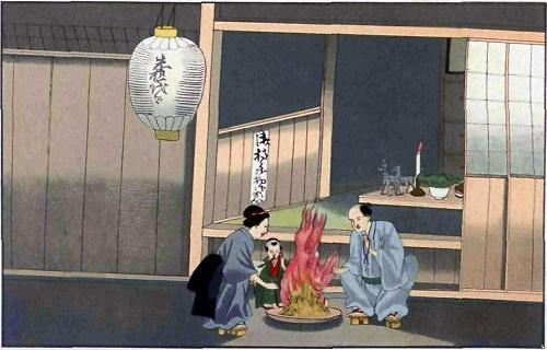 Tục nhảy múa trong lễ Vu Lan của người Nhật