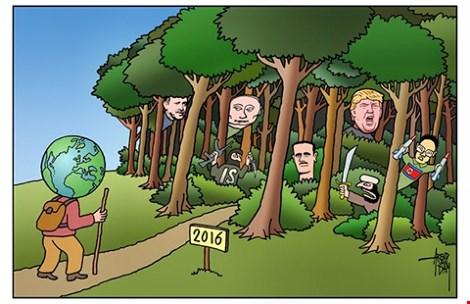 Bốn nguy cơ thế giới năm 2016