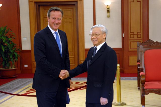 Dấu mốc quan trọng trong quan hệ Việt - Anh