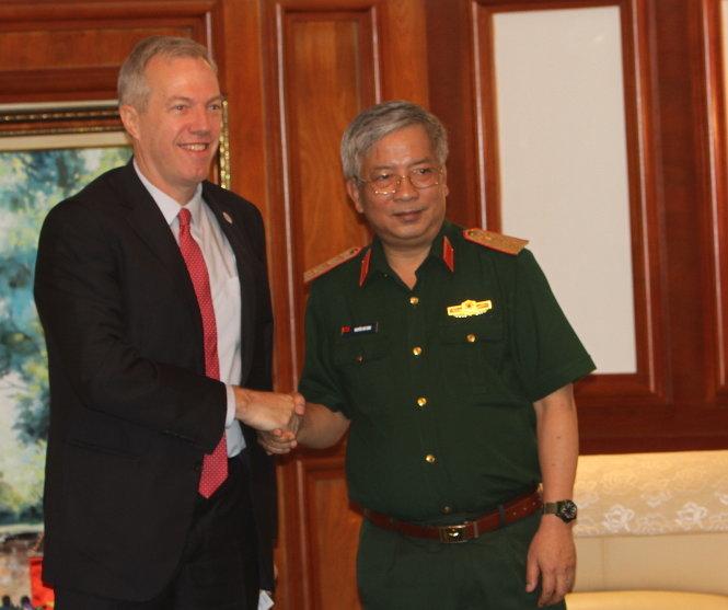 Việt - Mỹ sẽ thảo luận về công nghiệp quốc phòng