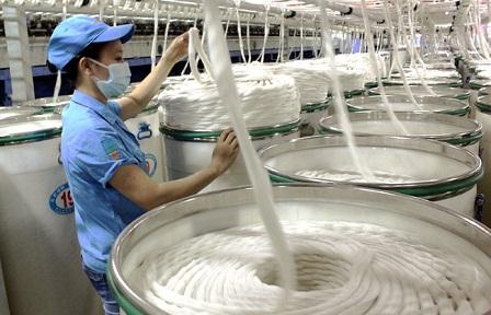 Nhập khẩu xơ, sợi dệt kim ngạch tăng tháng thứ hai liên tiếp