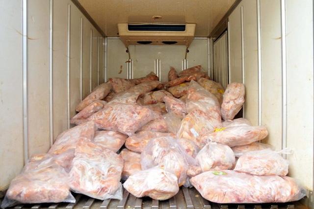 Nhập khẩu gà đông lạnh từ Mỹ qua cảng Hải Phòng tăng 275%
