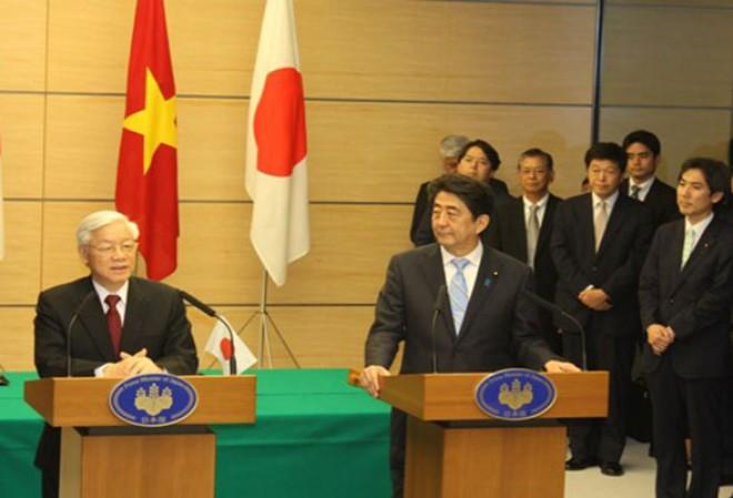 Nhật Bản viện trợ không hoàn lại 200 tỉ yên cho Việt Nam