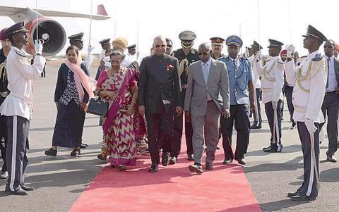 Ấn Độ đặt tham vọng châu Phi, vượt mặt Trung Quốc?