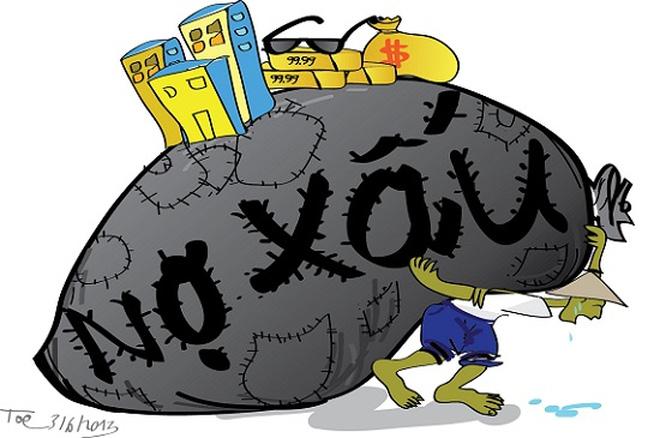 """Nợ xấu """"mắc kẹt"""" tại VAMC gấp đôi số nợ xấu trên sổ sách"""