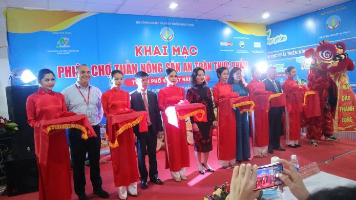 """Khai mạc """"Phiên chợ Tuần nông sản an toàn thực phẩm năm 2020"""" tại BigC Đà Lạt - Thành phố Đà Lạt, tỉnh Lâm Đồng từ ngày 13/11 đến 15/11/2020"""