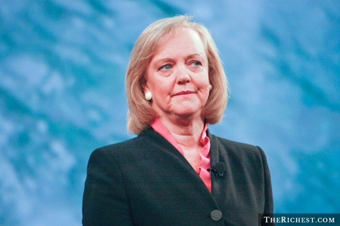 meg whitman – tai san: 2,2 ty usd.