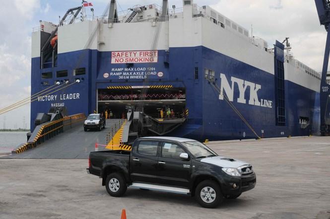Tràn ngập xe nhập khẩu từ Thái Lan, Indonesia