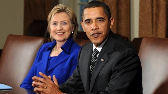 tong thong barack obama va cuu ngoai truong hillary clinton (anh: afp)