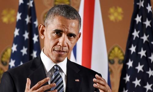 tong thong obama phat bieu hoi thang 4 o london. anh:reuters