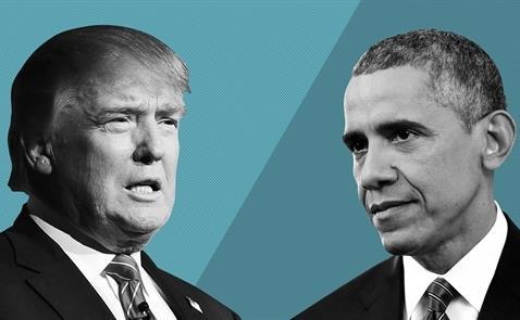 donald trump - barack obama - nguon anh: speakscore