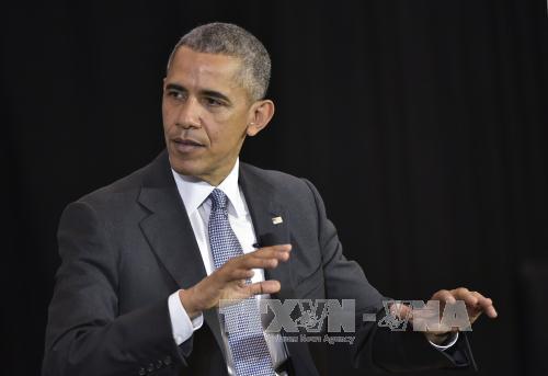 tong thong barack obama du kien se tham du hoi cho cong nghiep hannover trong hai ngay 24-25/4. anh: afp/ttxvn