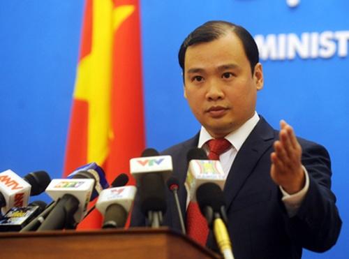 Việt Nam phản đối Trung Quốc quy hoạch Trường Sa và Hoàng Sa