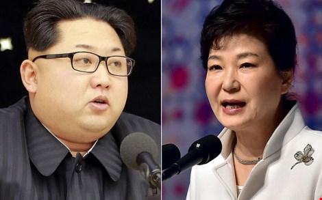 lanh dao kim jong un lan dau len tieng chi trich gay gat tong thong han quoc park geun-hye (nguon: telegraph)