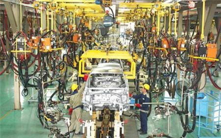 Dây chuyền lắp ráp, sản xuất ô tô của Hyundai Thành Công