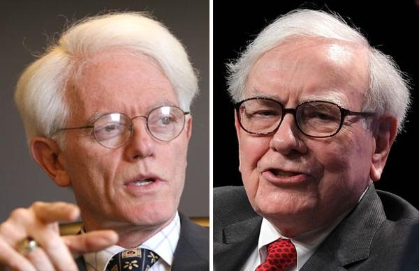 peter lynch va warren buffett. anh: getty images