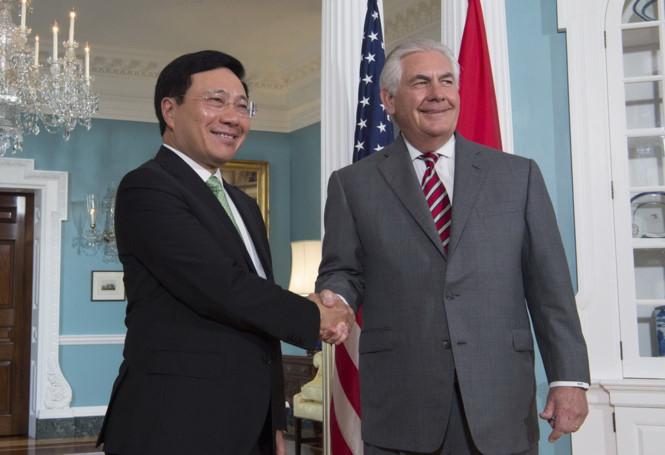 Mỹ đẩy mạnh cam kết với Đông Nam Á