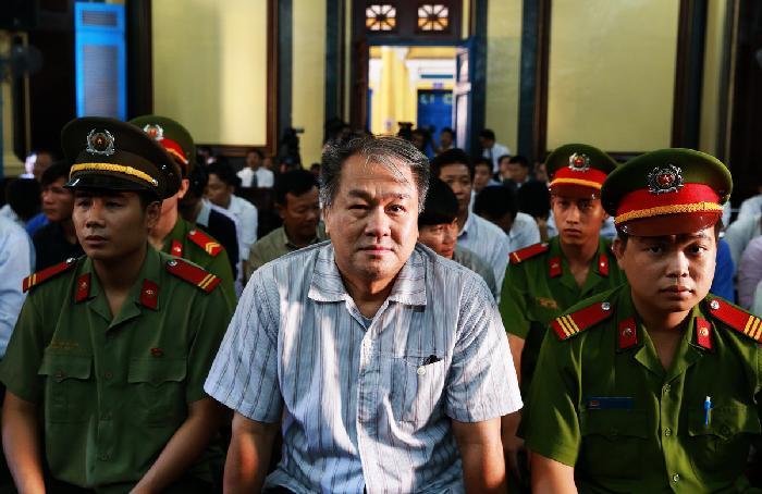 Phiên tòa  8/8: Bị cáo Lê Công Thảo và Lê Khắc Thái kêu oan