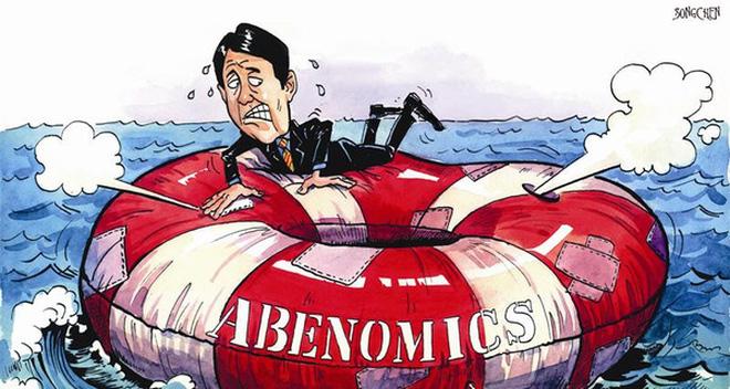Abenomics chỉ là thùng rỗng kêu to, chẳng thể giúp kinh tế Nhật phục hồi