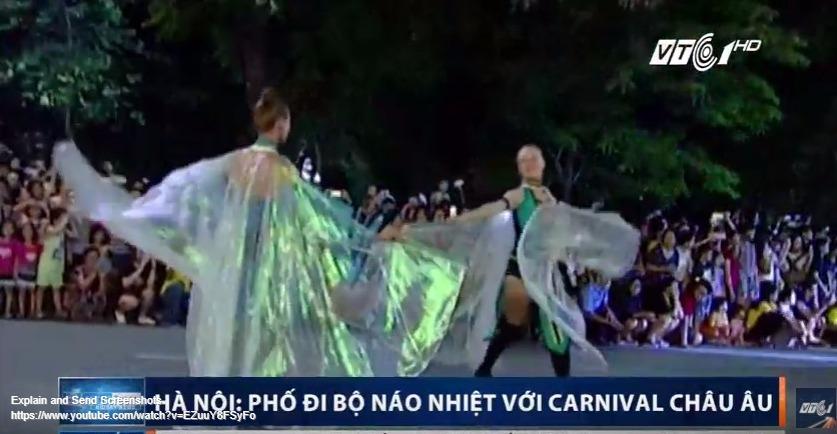 Bản tin Video - Tin tức Việt Nam trưa 18-09-2017: Phố đi bộ Hà Nội náo nhiệt với Carnival Châu Âu