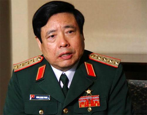 Bộ trưởng Phùng Quang Thanh: 'Hy vọng Trung Quốc sẽ nói đi đôi với làm'