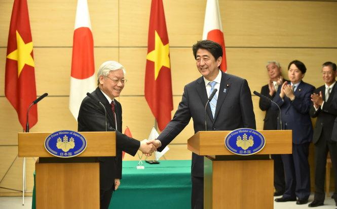 Truyền thông thế giới đưa tin chuyến thăm Nhật của Tổng bí thư