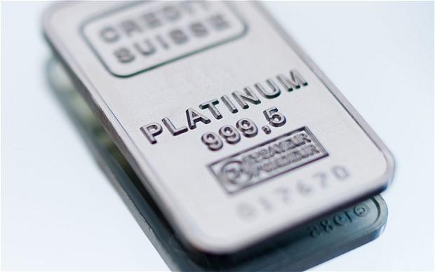 Giá Platinum thế giới - Real time