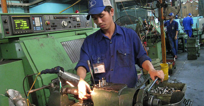 Chỉ số PMI của Việt Nam trong tháng 6 tăng nhanh đạt 52,5 điểm