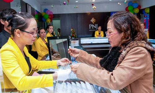 Cổ phiếu PNJ thăng trầm cùng DongA Bank