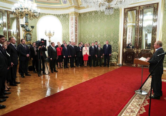 Tổng thống Vladimir Putin tuyên thệ nhậm chức, bước vào nhiệm kỳ thứ 4 - Ảnh 8.