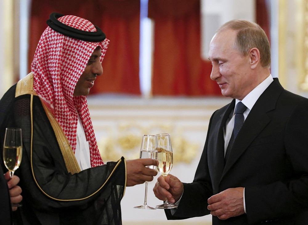 Nga - Ả Rập Xê Út đang thỏa hiệp trong cuộc chiến giá dầu?