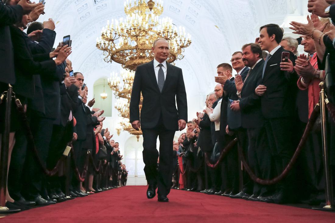 Toàn cảnh lễ nhậm chức tổng thống Nga lần 4 của ông Putin
