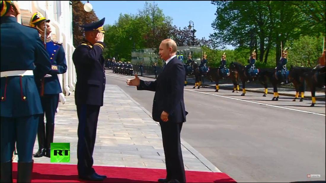 Toàn cảnh lễ nhậm chức tổng thống Nga lần 4 của ông Putin - Ảnh 8.