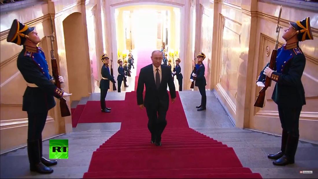 Toàn cảnh lễ nhậm chức tổng thống Nga lần 4 của ông Putin - Ảnh 9.